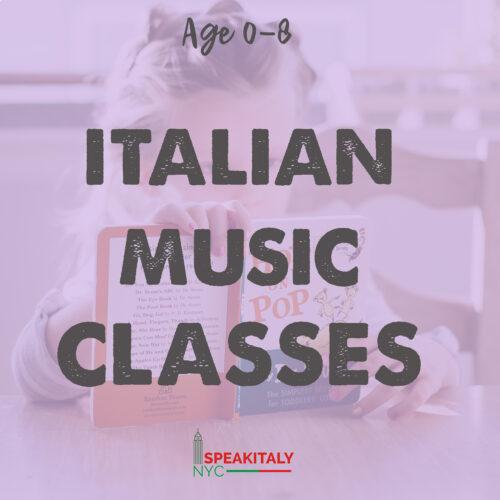 Italian Music Classes Online