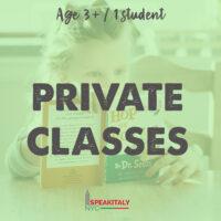 Private Classes - Children 3+