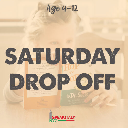 Saturday Drop Off