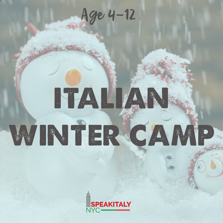 Italian Winter Camp 2020