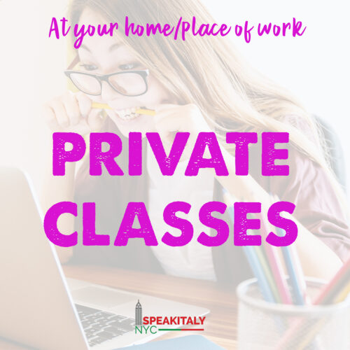Private Classes - At your Home/Place of Work