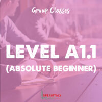 Group Classes - Level A1.1 (Absolute Beginner)