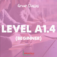 Group Classes - Level A1.4 (Beginner)