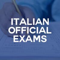 Italian Official Exams